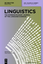 Kibrik, Andrej A.. 2012. Toward a typology of verb lexical systems: A case study in Northern Athabaskan. Linguistics 50.3, 495-532