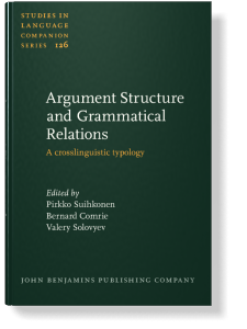 Kibrik, Andrej A.. 2012. What's in the head of head-marking languages? In: Pirkko Suihkonen, Bernard Comrie and Valery Solovyev (eds.) Argument Structure and Grammatical Relations: A Crosslinguistic Typology. Amsterdam:Benjamins, 229-258