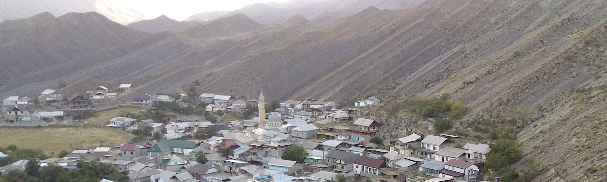 A look at the central part of the Muni village, Andi-speaking area, Daghestan
